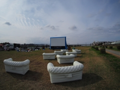Outdoor Theater in 多摩川