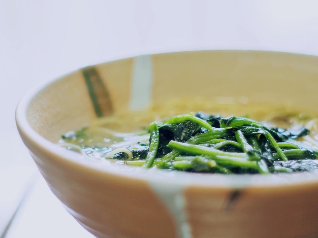 アマノフーズ ほうれん草トッピング麺