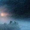霧中列車  2