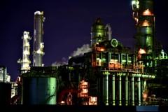 工場夜景②