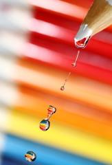 Water meet pencils