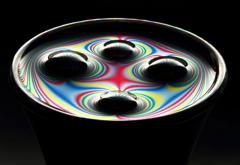ラインによる流体表現の考察 第4番 ~彩~