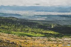 十勝岳からの眺望
