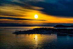 アドリア海 夕景
