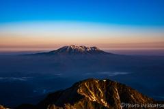 朝焼け 御嶽山