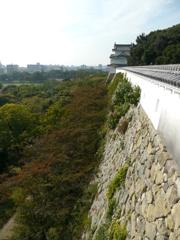 明石城 巽櫓から坤櫓を望む