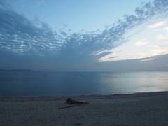置き土産 松江海岸 明石