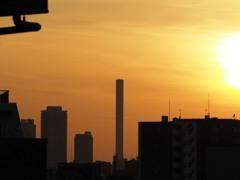 豊島清掃工場 煙突