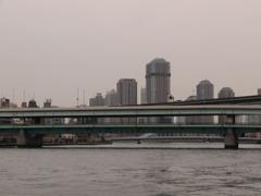 深川界隈の橋 隅田川大橋