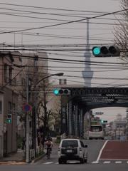 深川界隈の橋 亀久橋