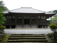 国宝 朝光寺本堂1 兵庫加東