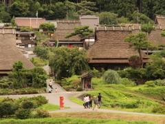 かやぶきの里 京都 美山1