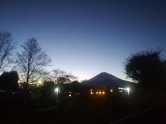 夕暮れ散歩道