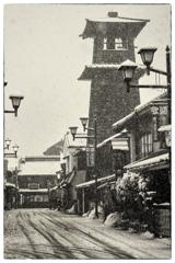 「みんな雪の中02」 小江戸川越散歩102
