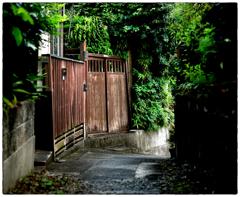 「小さな坂道」小江戸川越散歩303