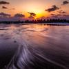 Evening beach