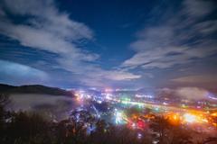 City lights Kakunodate