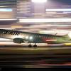 大阪国際空港 J-AIR着陸