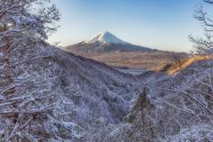 化粧直しの富士山②
