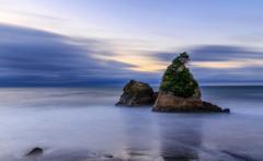 瑠璃色の海岸線①