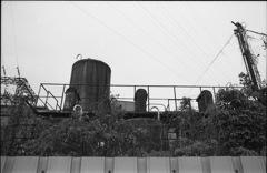 錆びたタンク