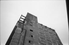 発掘現場な壁