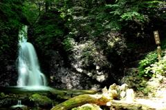 滝 二題  「風挙の滝」