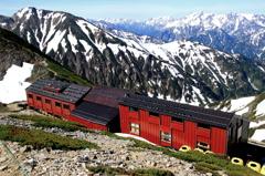 唐松岳頂上山荘ー山旅「唐松岳」 ♬10