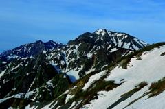 五竜岳、鹿島槍ヶ岳ー山旅「唐松岳」 ♬7