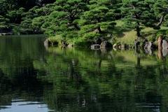 清澄庭園・大泉水…