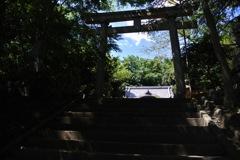二宮 吾妻神社・鳥居…