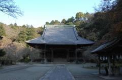 新春の古刹 妙本寺…1