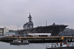 護衛艦いずも 乗艦…1