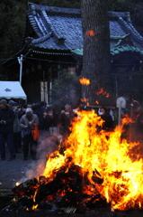 鎌倉のどんど焼き2…