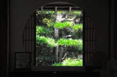 五山の円窓…
