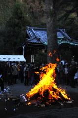 鎌倉のどんど焼き1…