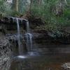 古刹の小滝…1