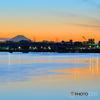 今井橋の夕景
