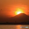 舞浜の夕陽