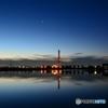 水門の夜明け