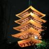 ライトアップ五重塔(浅草寺)