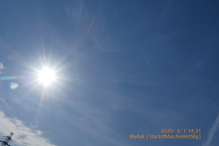 3.1Start of March is Hot Sky〜3月早々暑い太陽青空