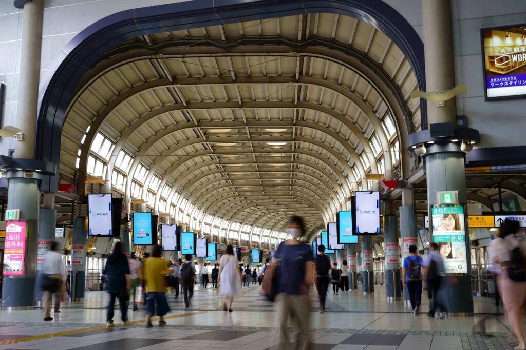久々の品川駅