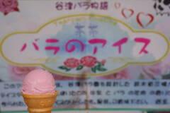 バラのアイス