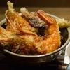 海老と穴子の天丼