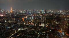 東京タワーからレインボーブリッジ