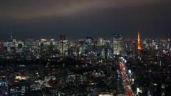 スカイツリーから東京タワー