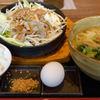 ビーフ鉄板麺