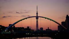 東京スカイツリーとふれあい橋