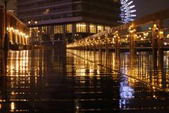 Rainy stage